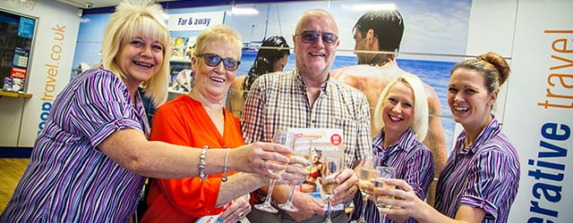 David and June Wilkie won back the cost of their holiday with Member Travel Club